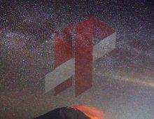 Milkyway Sinabung