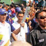 Dari Jogja Untuk Indonesia, Kirab Obor Asian Games 2018