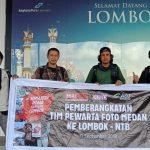 PFI Medan dan ACT Sumut Lakukan Aksi Sosial Di Lombok